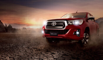 Toyota Hilux lleno